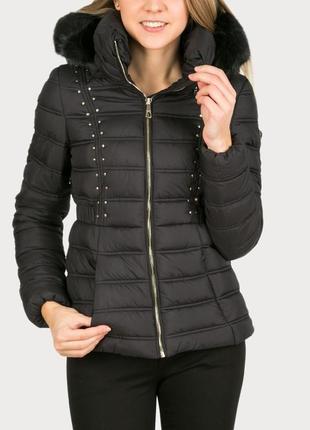 Зимняя куртка guess р-р m (eur 38)
