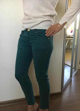 Стильные итальянские  джинсы fraconina оригинал, размер 42/28 s/m