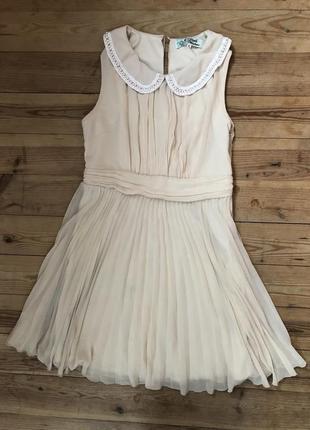 Нежное платье-плиссе little mistress
