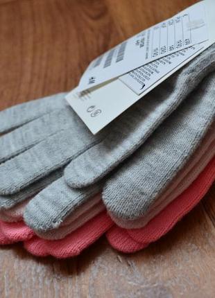 Рукавички, перчатки h&m 110. 116.122. 1283