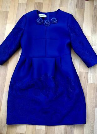 Тёплое нарядное платье