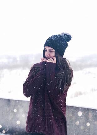 Тёплый свитер oodji