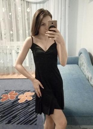 Класичнe чорнe плаття, куплeнe в італії!🇮🇹 xs-m / обмін чи продаж