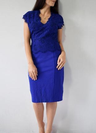 Платье с кружевом ted baker