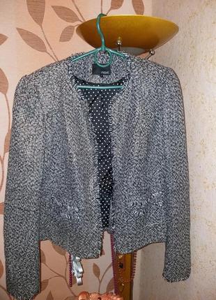 Пиджак премиум класса в стиле chanel