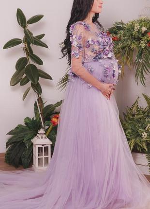 Платье для фотосессии, для беременных
