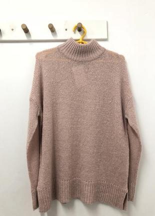 Пудровый свитер оверсайз new look