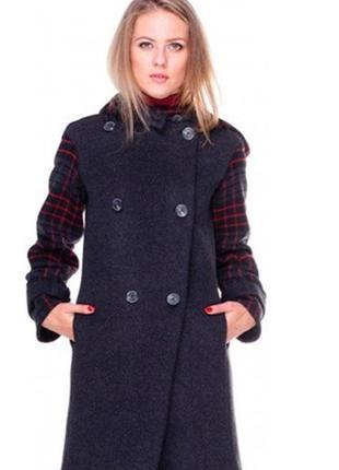 Супер пальто dolcedonna 100% шерсть размер 50-52