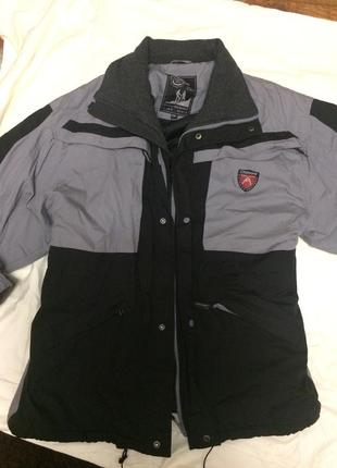 Теплая зимняя мужская спортивная куртка