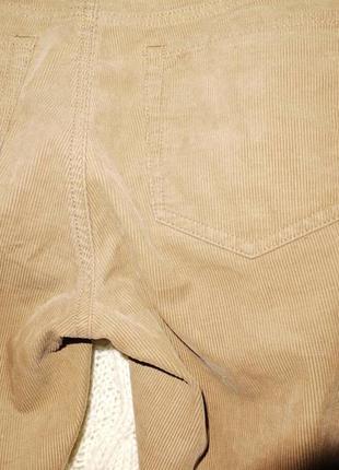 Брюки джинсы вельветовые ralph lauren светло коричневые узкие2