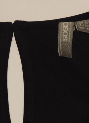 Стильная черная футболка от asos5