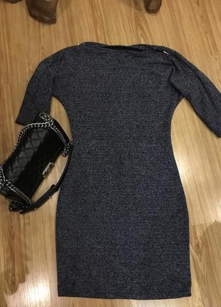 Тёплое платье по фигуре