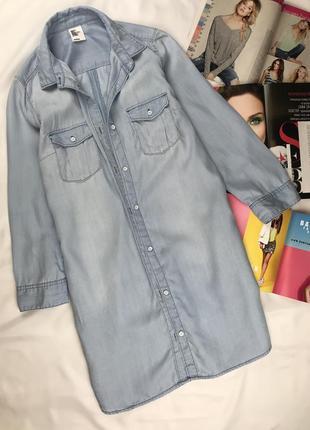 Джинсовое платье платье под джинс платье на пуговицах