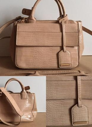 Элегантная вместительная красивейшая сумка от zara