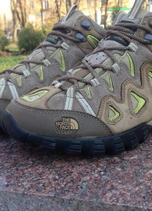 Ботинки треккинговая обувь the north face gore-tex, vibram original