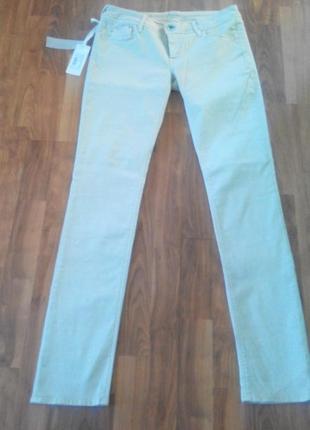 Стрейчевые летние джинсы