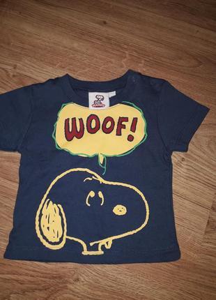 Крутая футболка на 3-6 месяцев