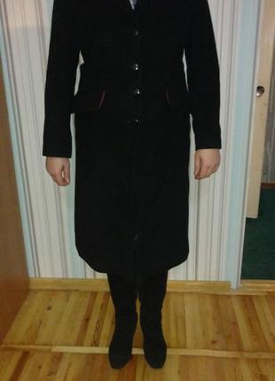 Пальто классическое кашемировое р.46
