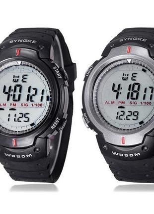 Спортивные водонепроницаемые мужские часы 2019 - купить недорого ... ae3375d4569