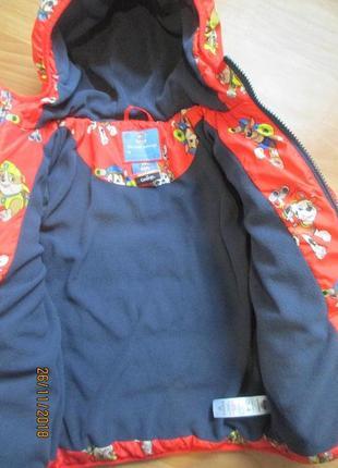 Яркая, тёплая  курточка george на 3-4 года4