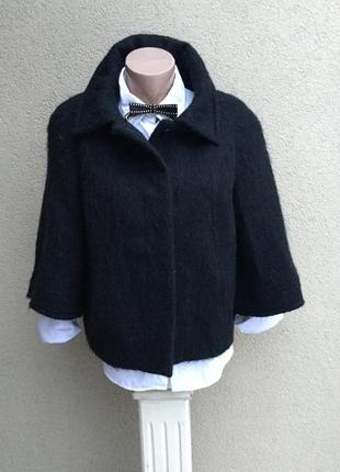 Тёплое,шерсть-альпака-мохер,полу-пальто,большого размера,l.k.bennett,люкс бренд