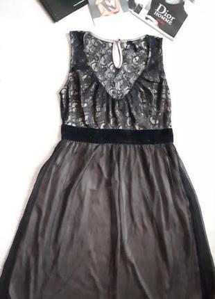 Кружевное платье mango / 2я вещь в подарок