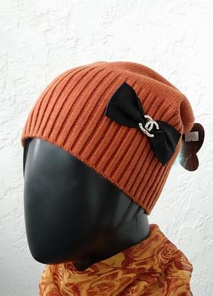 Супер стильная весенняя шапочка. акция!!!