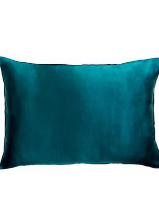 100% шелковая наволочка 50x75 см, цвет королевский синий (последний экземпляр)