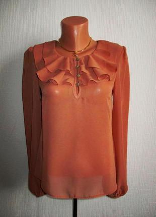 Блуза с воланами atmosphere