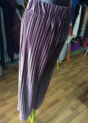 Велюровые штаны 36 плотные