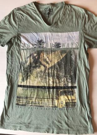 Акция дня! мужская футболка с принтом