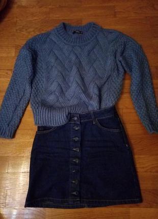 Продам красивый, теплый, мягкий свитер
