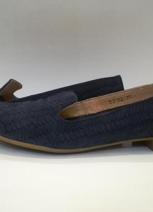 Кожаные туфли балетки от varese/италия