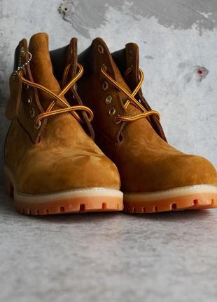 Зимние ботинки с мехом timberland