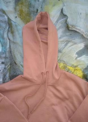Толстовка пудро-розового цвета размер s