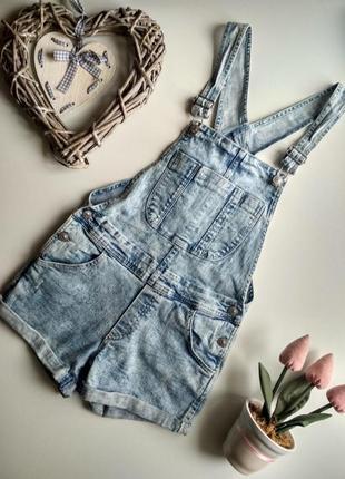 Комбез джинсовий h&m1
