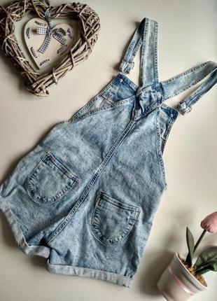 Комбез джинсовий h&m2