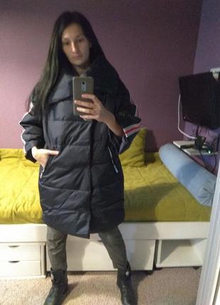 Стильная куртка оверсайз. италия