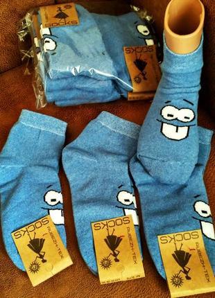 Фабричные женские махровые носки в ассортименте