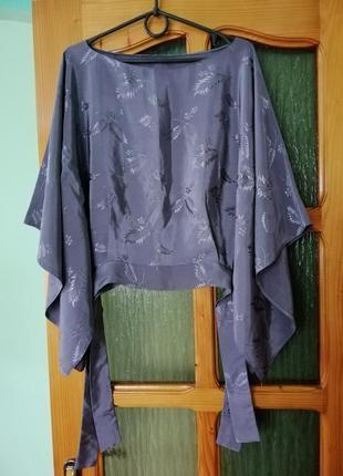 Блузка, летучая мишь, блуза, кофточка, рубашка