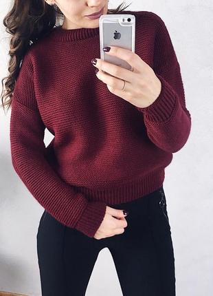 Шикарный свитер свободного кроя 9 цветов!