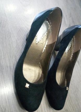 Туфли женские черные la rose