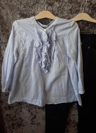 Блуза в полоску h&m /2я вещь в подарок