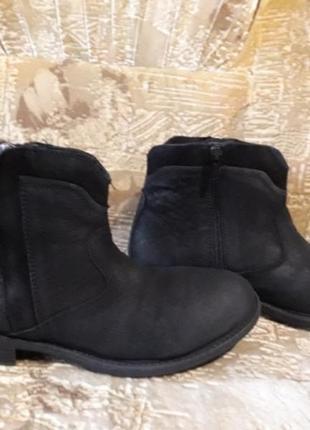 Кожаные ботинки kim kay london 38 р, 25 см