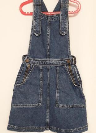 Стильный джинсовый сарафанчик