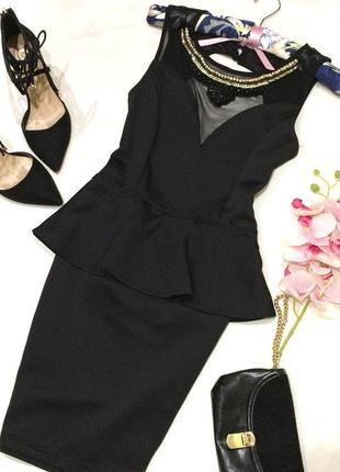 Стильне плаття з відкритою спинкою ax paris