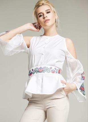 c67070fdb7c Белые блузки Nenka 2019 - купить недорого вещи в интернет-магазине ...