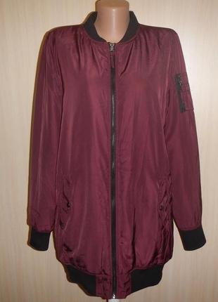 Куртка бомбер удлиненный atmsphere р.12