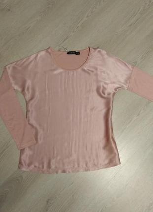 Блуза с атлас