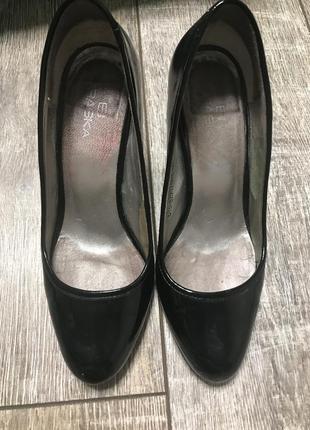 Туфли лаковые женские braska